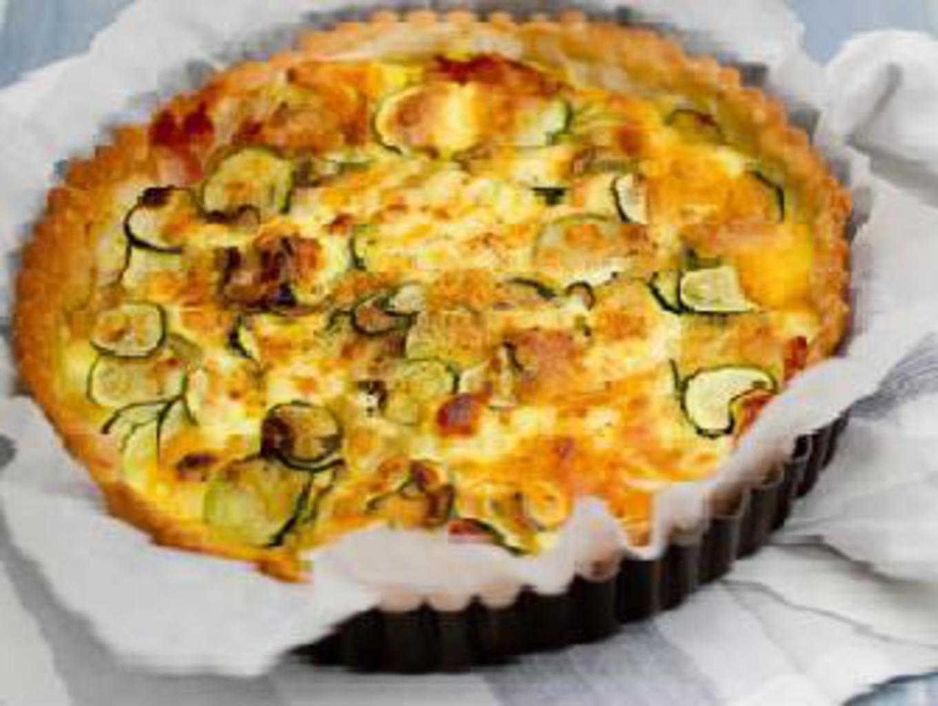 Quiche Ricetta Base.Ricetta Quiche Di Zucchine E Pancetta Ricette Kenwood Club