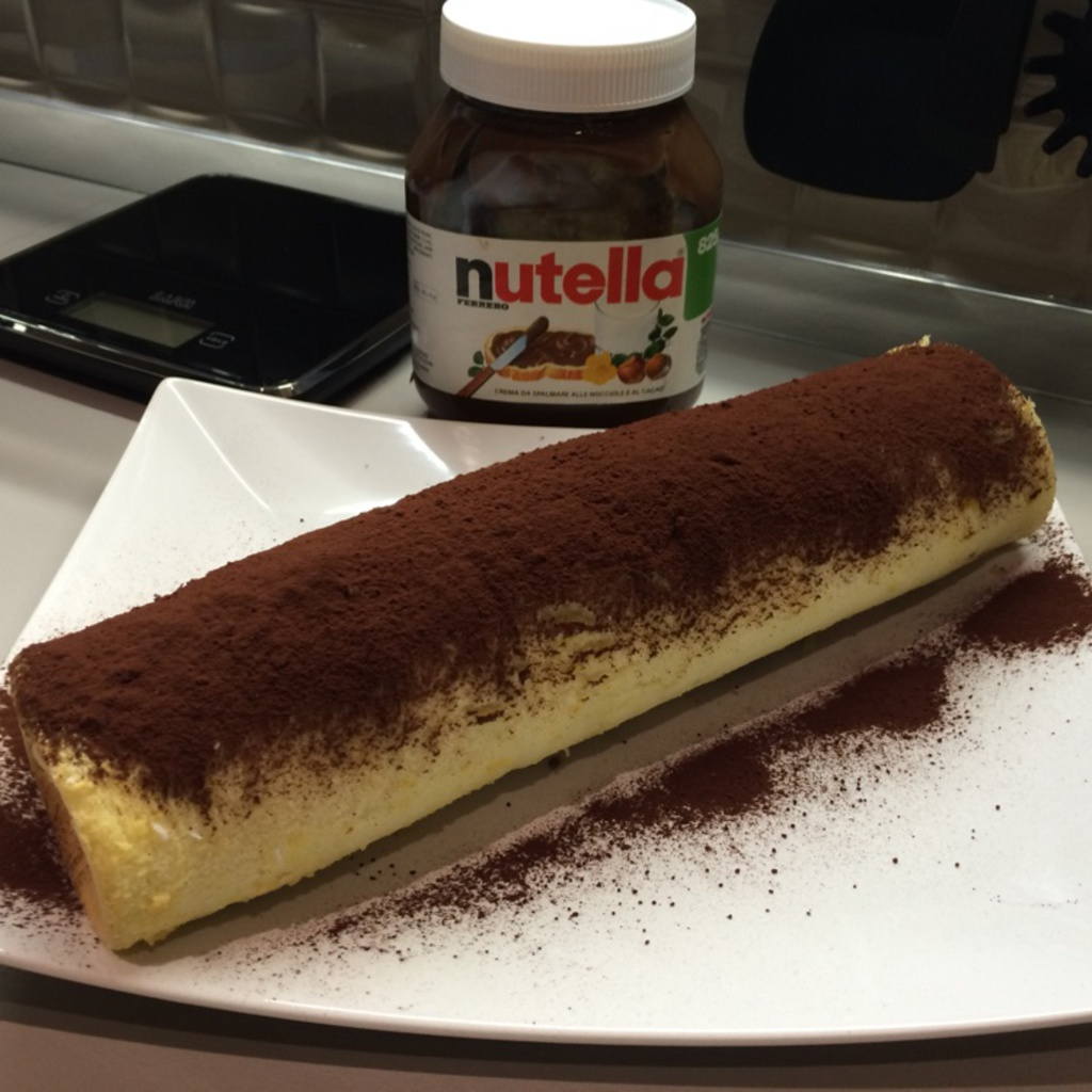 Ricetta Nutella Con Kenwood.Ricetta Rotolo Di Nutella Ricette Kenwood Club